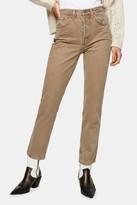 Topshop Brown Jeans