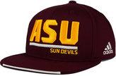 adidas Arizona State Sun Devils Travel Flat Brim Snapback Cap