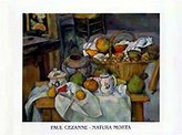 Cezanne 1art1 Posters: Paul Poster Art Print - Natura Morta (12 x 9 inches)