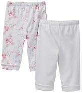 Little Me Rose Swirl Pant - Pack of 2 (Baby Girls)