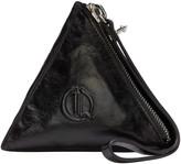 McQ by Alexander McQueen Black Pyramid Coin Pouch