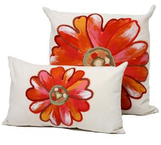 Liora Manné Single Flower Decorative Pillow