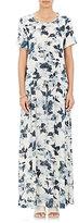 Raquel Allegra Women's Drawstring-Waist Maxi Dress