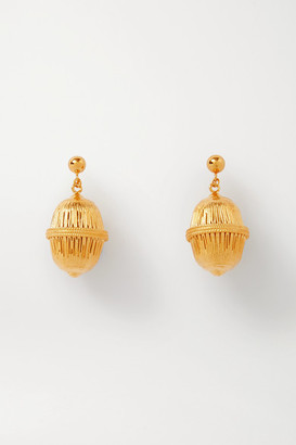 SOFT MOUNTAINS Seeds Gold Vermeil Earrings - one size
