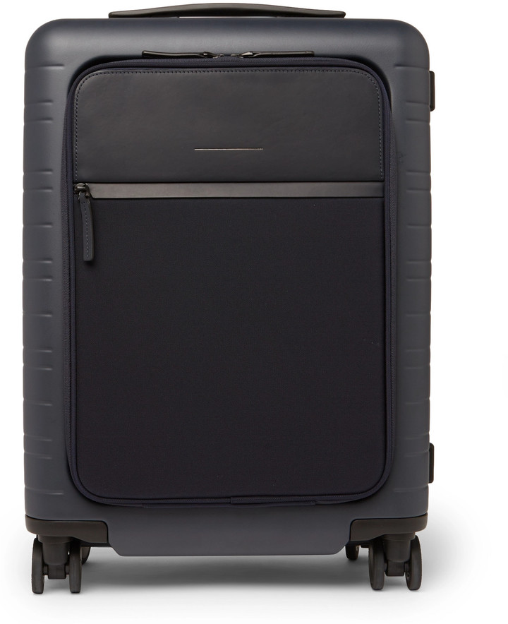 Horizn Studios M5 55cm Polycarbonate, Nylon And Leather Carry-On Suitcase