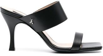 Patrizia Pepe Double-Strap Heeled Mules