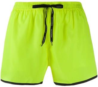 John Richmond Rian logo-print swim shorts