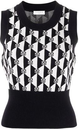 Sandro Sandie knitted vest top