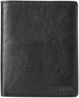 Fossil Ingram International Bifold With Coin Pocket Leather Wallet