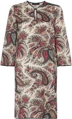 Etro Paisley Print Tunic Dress