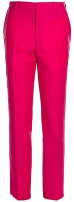 Alexander McQueen Selvedge Wool & Mohair Trousers