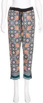 Clover Canyon Printed Mid-Rise Pants