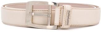 Gianfranco Ferré Pre Owned 1990 Buckle Leather Belt