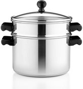 Farberware CLOSEOUT! Classic Stainless Steel 3 Qt. Covered Stockpot with Steamer Insert