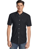 Tommy Hilfiger Big and Tall Men's Maxwell Short-Sleeve Button-Down Shirt