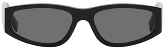 RetroSuperFuture Black Neema Rectangle Sunglasses