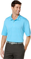 PGA TOUR Big and Tall Airflux Solid Performance Golf Polo