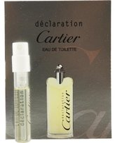 Cartier Declaration By Edt Spray Vial On Card
