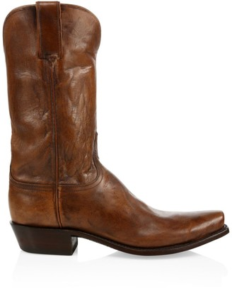 Lucchese Leadville Western Leather Boots