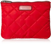 Marc by Marc Jacobs Crosby Quilt Nylon Flat Double Zip Cosmetic Bag