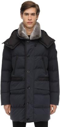 Peuterey Cotton Blend Down Jacket W/ Fur