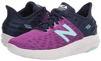 New Balance Fresh Foam Beacon v2 (Plum/Natural Indigo) Women's Shoes