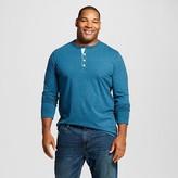 Merona Men's Big & Tall Solid Long Sleeve Henley