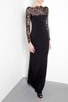 Malene Birger Mawio Jersey And Lace Maxi Dress