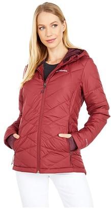 Columbia Heavenly Hooded Jacket (Black) Women's Coat