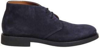 Doucal's Doucals Ankle Boot In Suede Leather