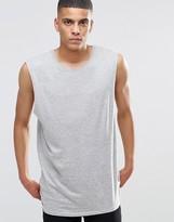 Brave Soul Cap Sleeve Long Line Vest