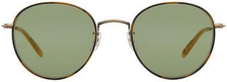 Garrett Leight Paloma Sun Jaguar Tort-gold Sunglasses