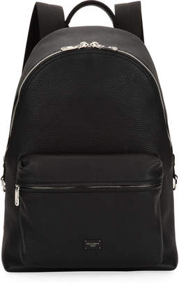Dolce & Gabbana Men's Solid Leather Backpack