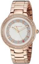 Juicy Couture Women's 1901401 Catalina Analog Display Japanese Quartz Rose Gold Watch
