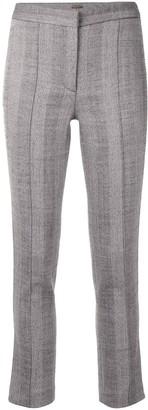 Adam Lippes Herringbone Pattern Cigarette Trousers
