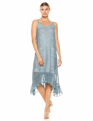 Nic+Zoe Women's Plus Size Santorini Tiles Dress