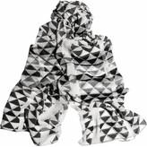 Shoes & Accessories Geometric-print silk-chiffon scarf