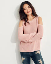 Hollister Cold Shoulder Sweater