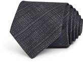 John Varvatos Faded Check Classic Tie
