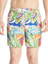 Polo Ralph Lauren Paisley Traveler Swim Trunks