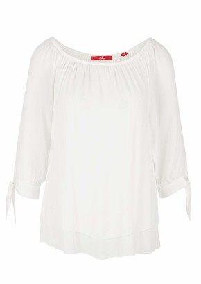 S'Oliver Women's Bluse 3/4 Arm Blouse
