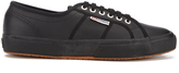 Superga 2750 Fglu Leather Trainers Full Black