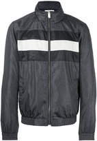 Bally striped panel lightweight jacket