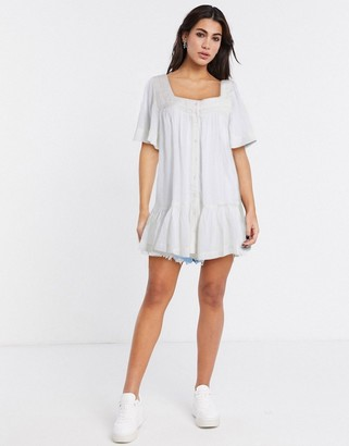 Free People Hearts Desire button down tunic
