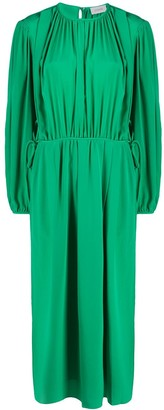 Lemaire Pleated Midi Dress