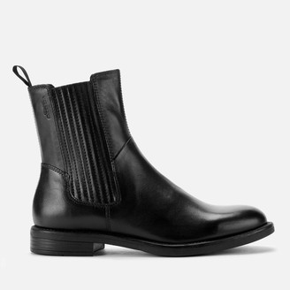 Vagabond Women's Amina Leather Chelsea Boots - Black