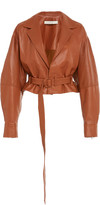 Jonathan Simkhai Vegan Leather Cropped Jacket