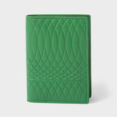 Paul Smith No.9 - Men's Green Leather Credit Card Wallet
