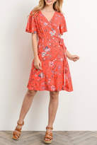 Gilli A-Line Printed Dress