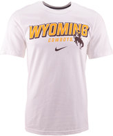 Nike Men's Wyoming Cowboys Slanted School Name T-Shirt